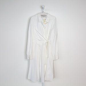 Valentino Long Sleeve Tie Dress